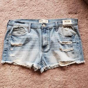 Mudd Low Rise Shortie Jean Shorts size 17 NWT
